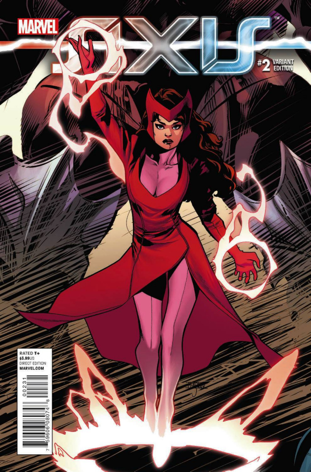 Avengers and X-Men: AXIS #2 (Asrar Young Guns Cover)