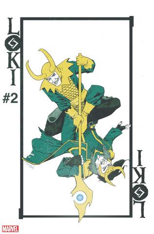 Loki #2 (Shalvey BobG Cover)