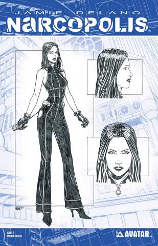 Narcopolis #1 (Design Sketch Cover)