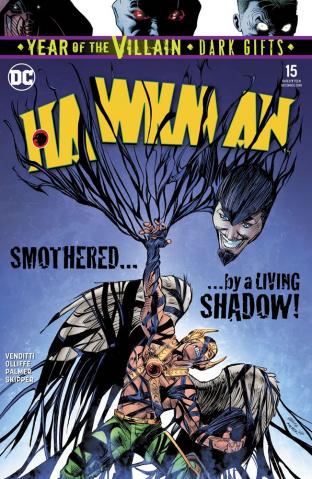 Hawkman #15 (Dark Gifts Cover)