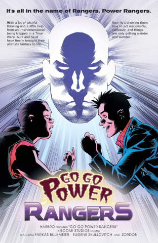 Go, Go, Power Rangers! #17 (25 Copy Melnikov Cover)