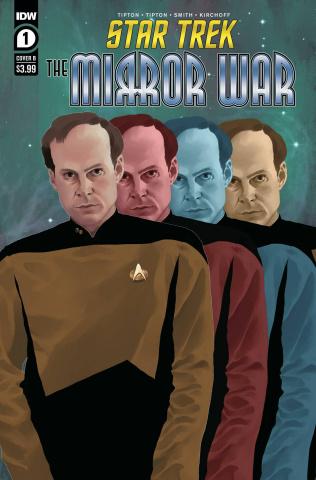 Star Trek: The Mirror War #1 (Madriaga Cover)