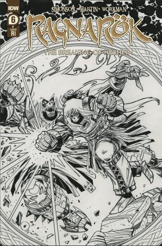 Ragnarök: The Breaking of Helheim #6 (10 Copy Simonson Cover)