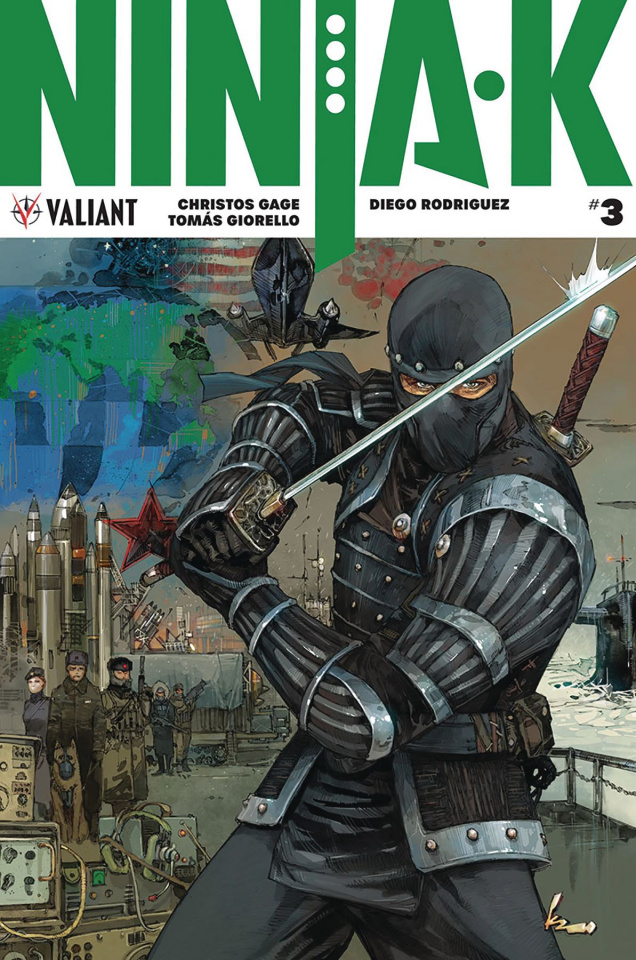 Ninja-K #3 (20 Copy Rocafort Cover)