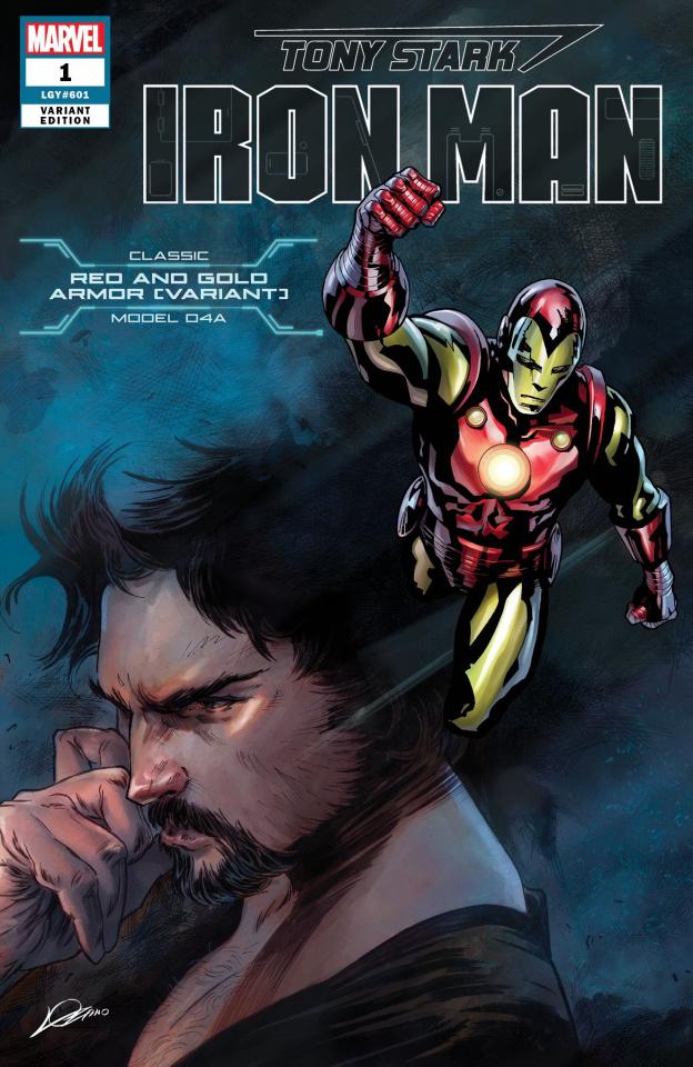 Tony Stark: Iron Man #1 (Nose Armor Cover)