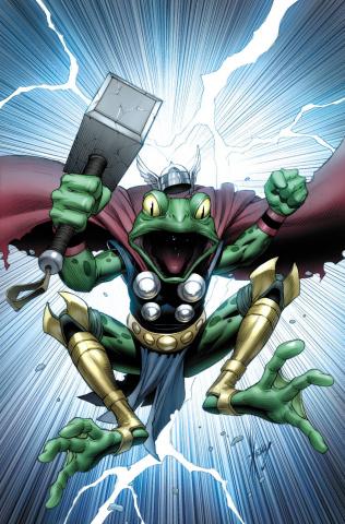 Thors #1 (Keown Cover)