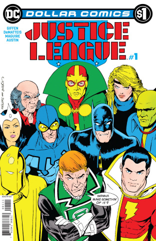 Justice League #1: 1987 (Dollar Comics)