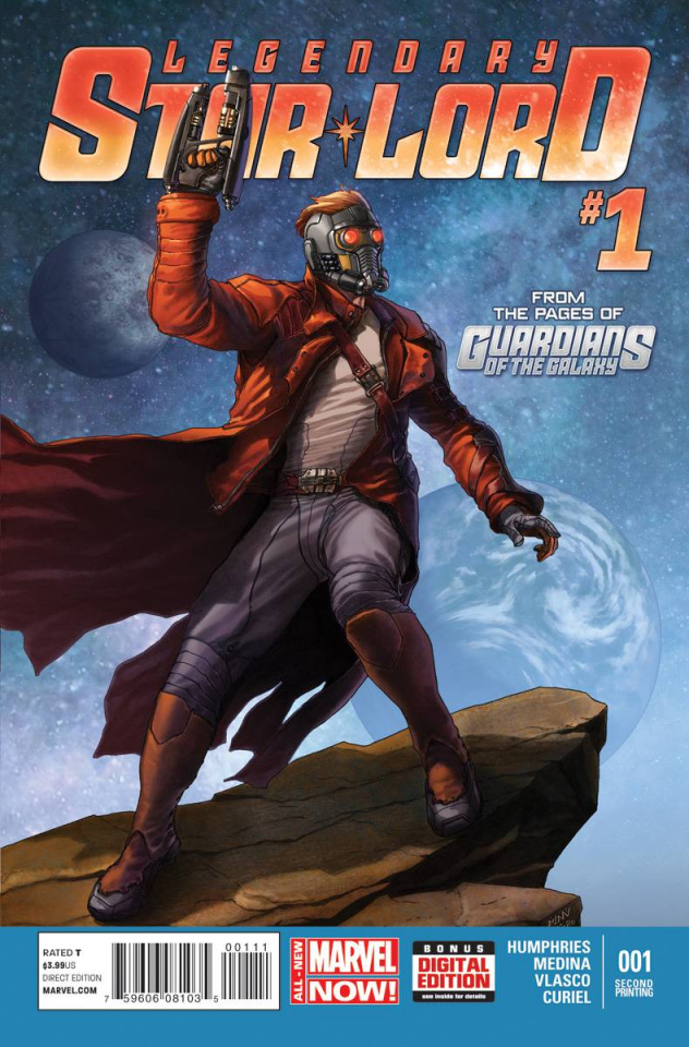 Legendary Star-Lord #1 (2nd Printing)