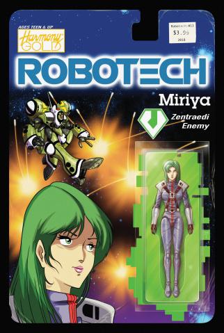 Robotech #13 (Action Figure Cover)
