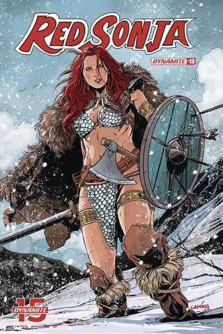 Red Sonja #13 (Laming Cover)