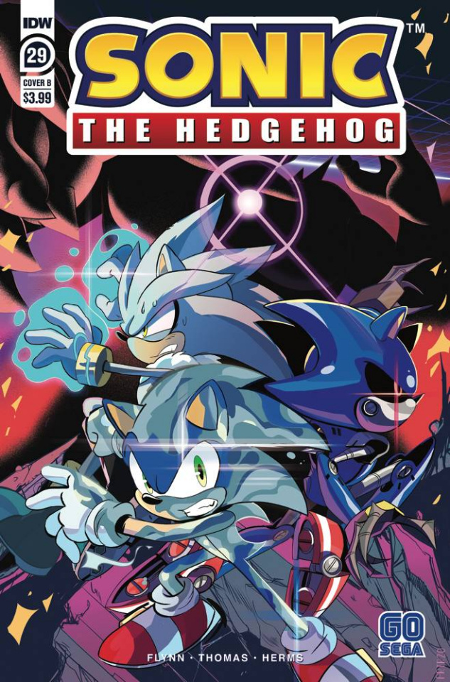Sonic the Hedgehog #29 (Tramontano Cover)