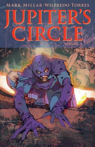 Jupiter's Circle #2 (Sienkiewicz Cover)