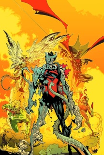 Earth 2 #27 (Monsters Cover)
