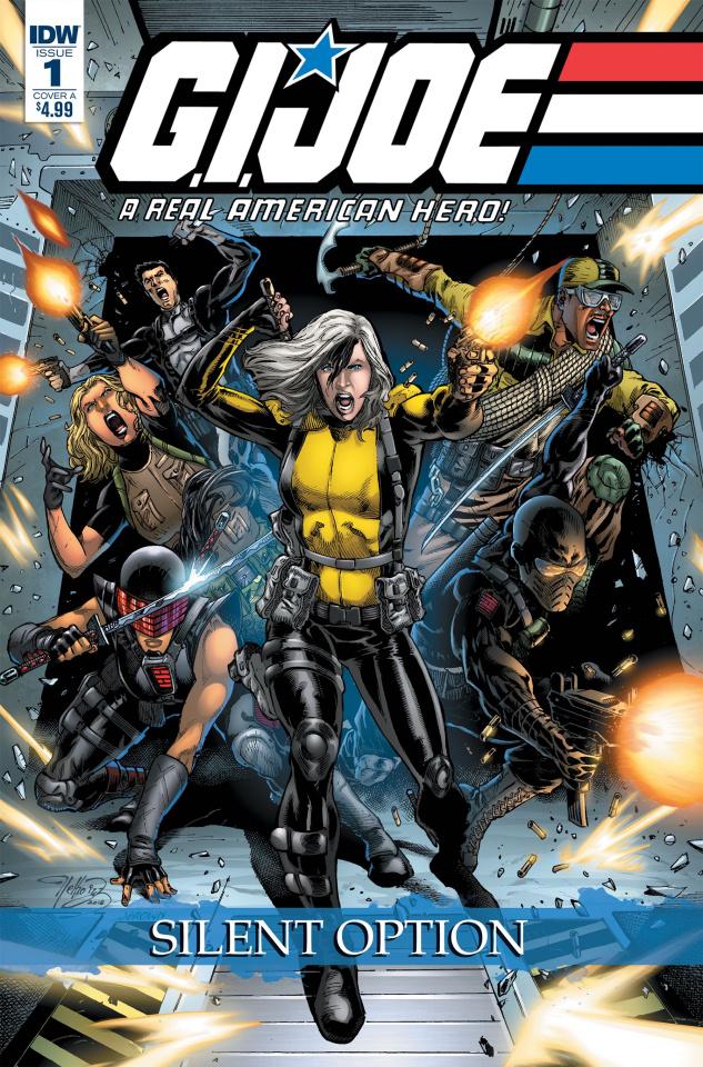 G.I. Joe: A Real American Hero - Silent Option #1 (Diaz Cover)