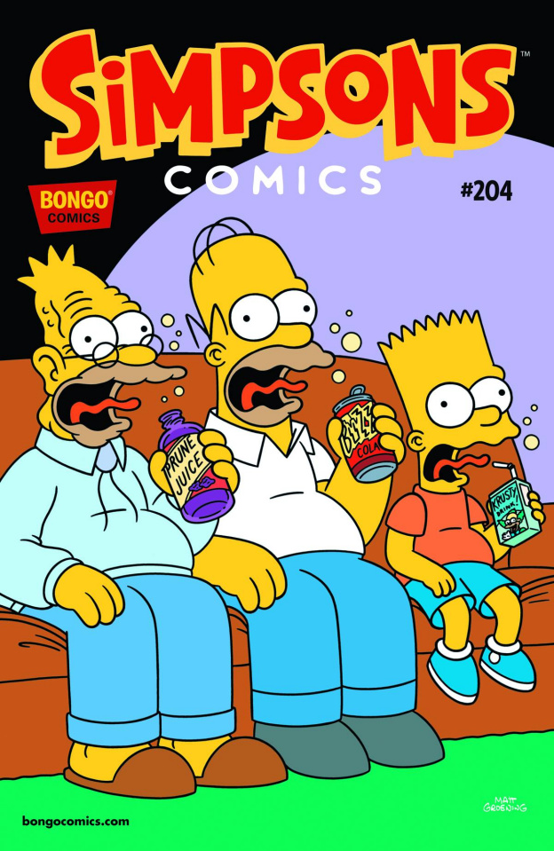 Simpsons Comics #204