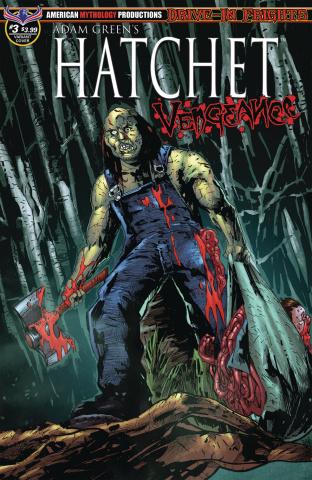 Hatchet: Vengeance #3 (Mandir Swamp Kill Cover)