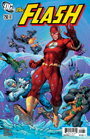 The Flash #750 (2000s Jim Lee Cover)