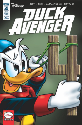 Duck Avenger #4 (Subscription Cover)