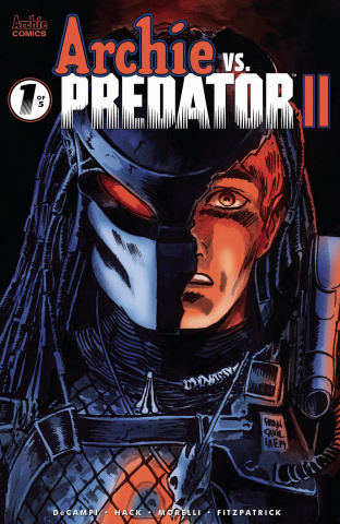 Archie vs. Predator II #1 (Francavilla Cover)