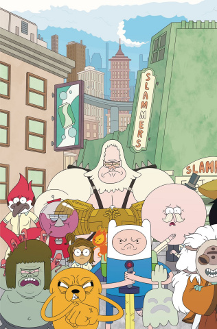 Adventure Time: Regular Show #5 (Main & Mix Cover)