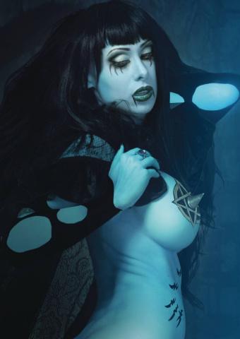 Alt Paths: Raven Hex, The Swordmaiden #1 (Cosplay Photo Cover)
