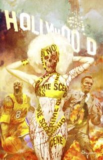 Hollywood: Zombie Apocalypse #1 (Suydam Cover)