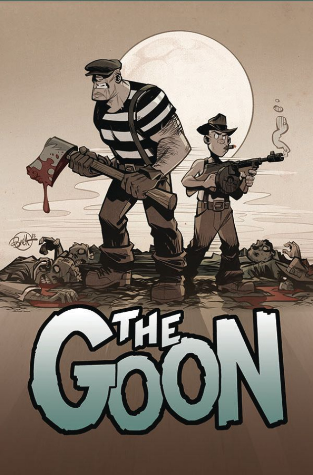 The Goon #8 (Parson Cardstock Cover)