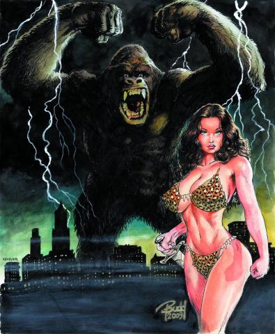 Cavewoman Rising (Cover D)
