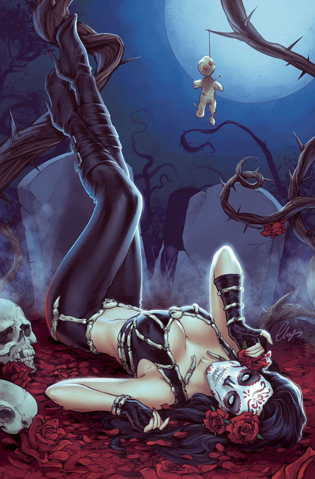 Grimm Fairy Tales: Day of the Dead #2 (Chatzoudis Cover)