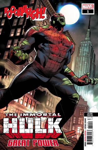 The Immortal Hulk: Great Power #1 (Molina 2nd Printing)