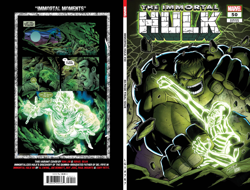 The Immortal Hulk #50 (Ron Lim Cover)