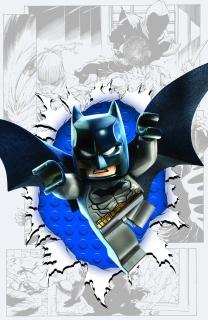 Detective Comics #36 (Lego Cover)