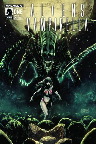 Aliens / Vampirella #1 (Hardman Cover)