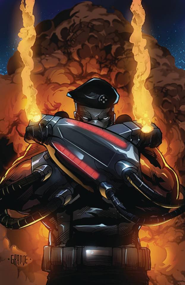 Blowtorch #3 (Grande Cover)