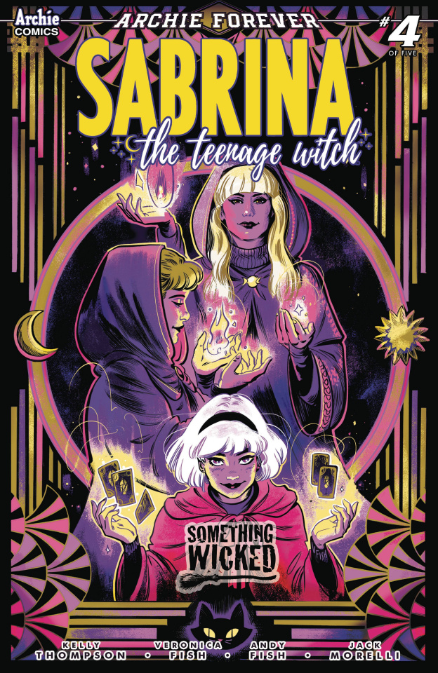 Sabrina: Something Wicked #4 (Fish Cover)