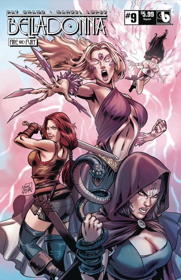 Belladonna: Fire and Fury #9