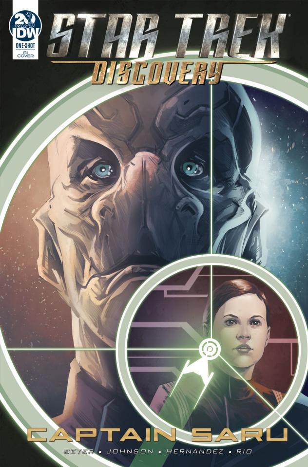 Star Trek: Discovery - Captain Saru (10 Copy Hernandez Cover)