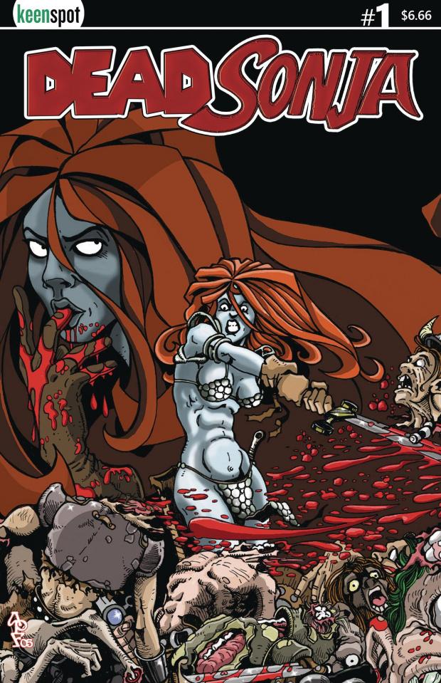 Dead Sonja #1 (Bloodbath Cover)