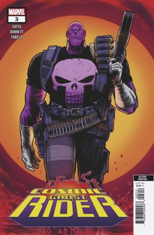 Cosmic Ghost Rider #3 (Burnett 2nd Printing)