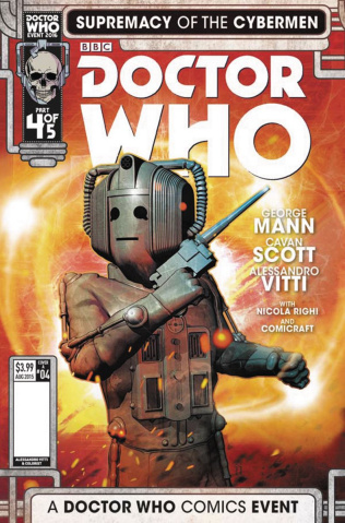 Doctor Who: Supremacy of the Cybermen #4 (Listran Cover)