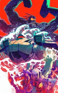 Pacific Rim: Tales from the Drift #3 (10 Copy Manapul Cover)