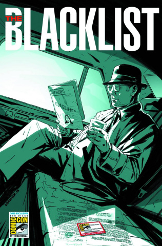 The Blacklist #1 (SDCC Cover)