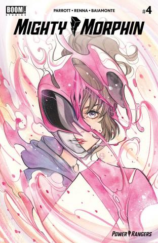 Mighty Morphin' #4 (25 Copy Momoko Cover)