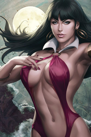 Vampirella #3 (25 Copy Artgerm Virgin Sneak Peek Cover)