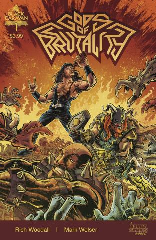Gods of Brutality #1 (Welser Cover)