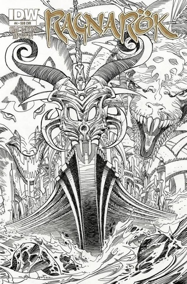 Ragnarök #4 (Subscription Cover)
