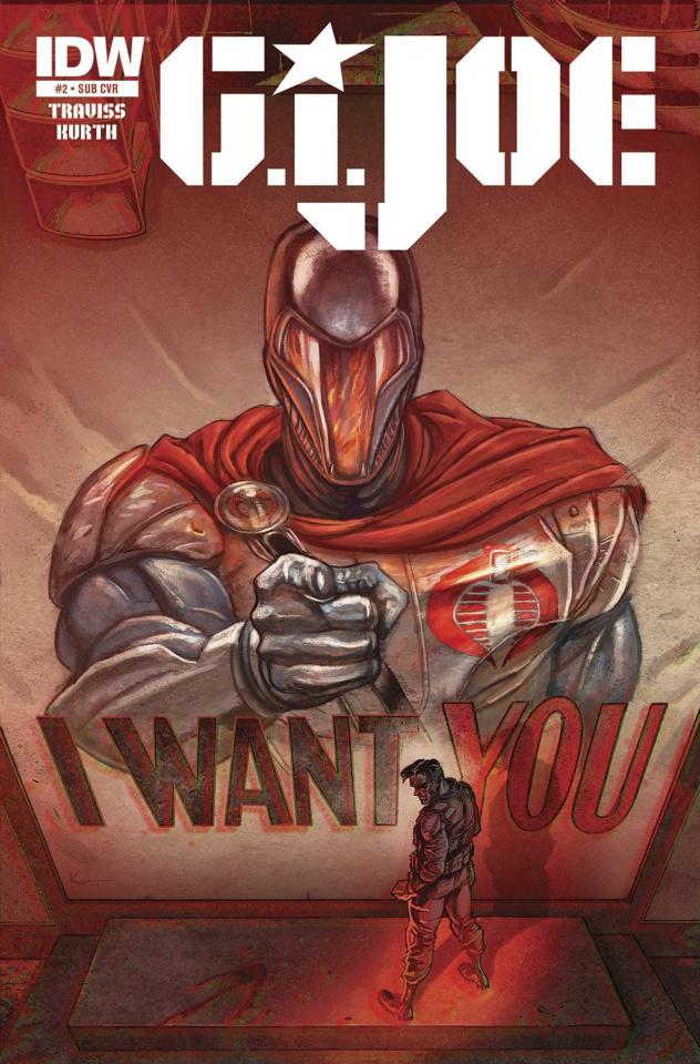 G.I. Joe #2 (Subscription Cover)