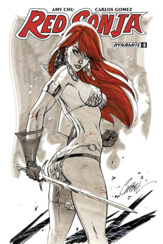 Red Sonja #3 (Campbell Cover)