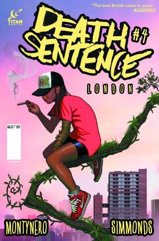 Death Sentence: London #4 (Montynero Cover)