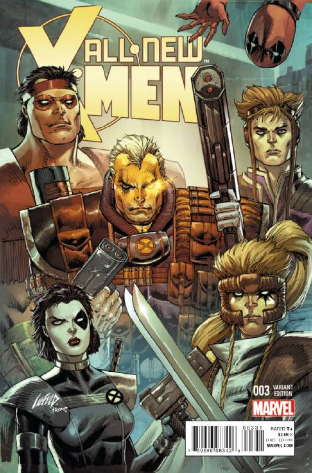 All-New X-Men #3 (Liefeld Marvel '92 Cover)